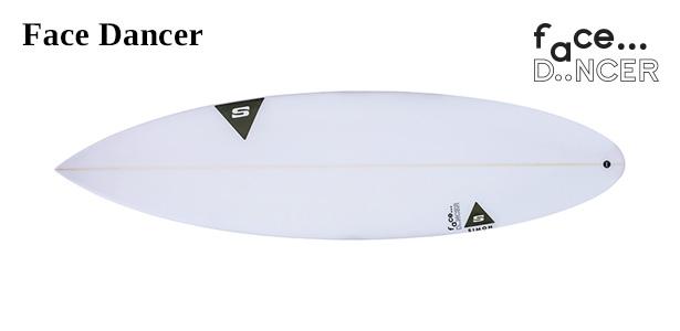 Simon Anderson Surfboards Face Dancer